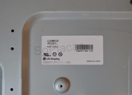 Tela Lcd Lg Lc420eus (sc) (a1) Original Com Garantia E Nfe