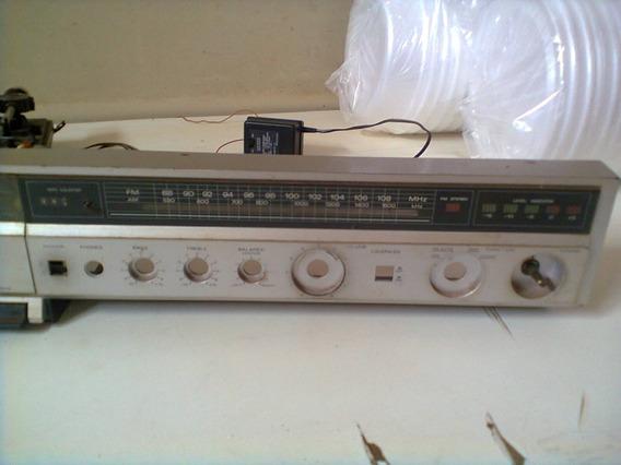 Som Antigo Philco Hitachi Stereo 3 Pcs 32 Frente Do Som