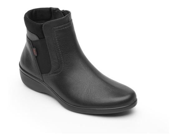 Zapato Botin Casual Dama 18121 Flexi Negro