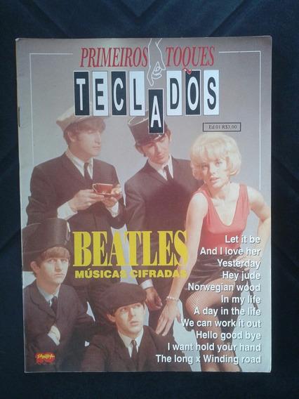 Revista Beatles Primeiros Toques Teclados Edição 1