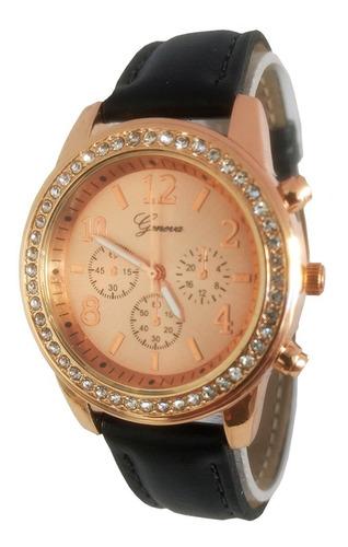 Relógio Barato Feminino Rose Confortável
