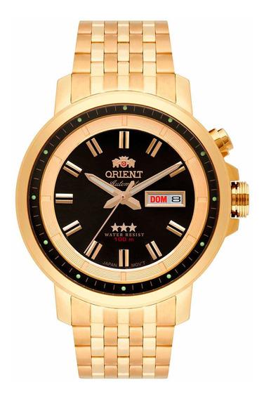 Relógio Orient Masculino Ref: 469gp079 Diâmetro 45mm