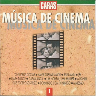 Pack Com 6 Cds Caras Música De Cinema Cd 1-6 Vários Artistas