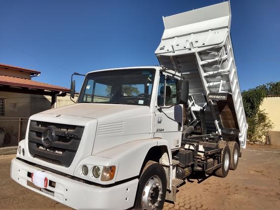 Caminhão Mb 2324/14 Truck Caçamba Rosset