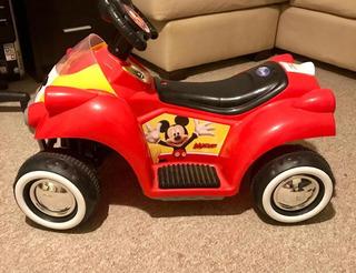 Moto A Batería De Mickey Mouse