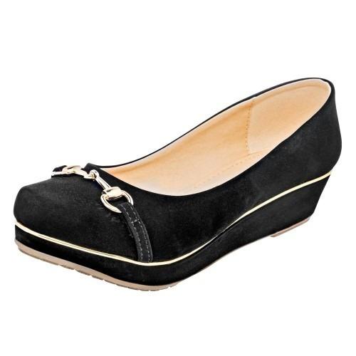 Zapato Casual Mujer Been Class Negro 79980 Env Inmediato