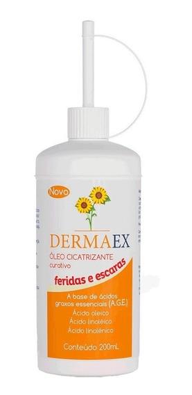 Kit C/3 Dermaex Age 200ml = Dersani Óleo De Girassol Escaras