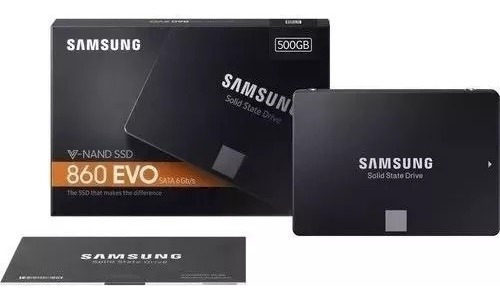 Ssd Samsung 500gb 860 Evo 2.5 Sata Iii 3d Nand Mz-76e500/am