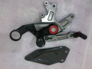 Pedaleira Para Moto S1000 Bmw Lado Direito