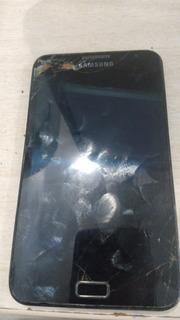 Celular Samsung N7000 Com O Frontal Quebrado