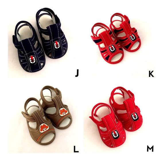 Sapato Sandália Bebê Menino Recém Nascido Sapatinho Infantil
