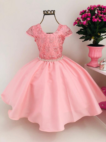 Vestido Princesa Aurora Bela Adormecida Infantil Cod. 2059