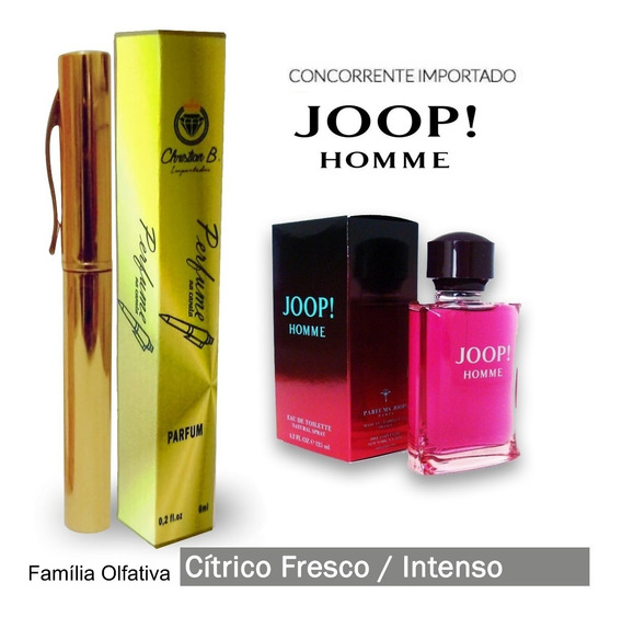 Perfume Leider - Família Olfativa Joop! Homme