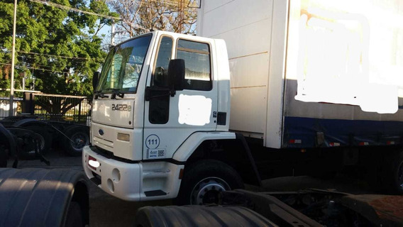 Ford Cargo 2422 2009 Truck Com Sider 8,5 Mt