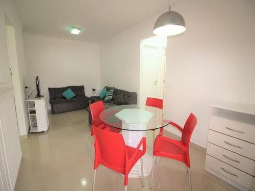 Imagem 1 de 17 de Guarujá Pitangueiras Flat 2 Dormitórios Ar Condicionado Piscina Lazer Completo Manobrista Serviço De Praia Portaria 24 Horas - Fl0011 - 34708972