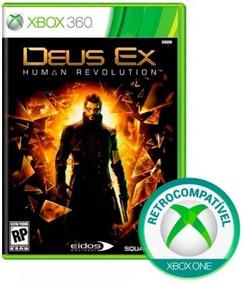 Jogo Deus Ex Xbox 360 Xbox One Original Lacrado Novo