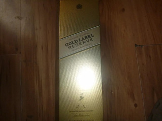 Caja Botella Vacia De Whisky Johnnie Walker Gold Label 750m