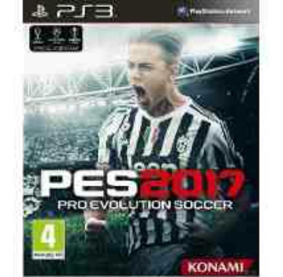Pes 17 Pro Evolution Soccer 2017 Ps3 Português Br