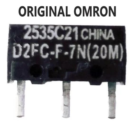 Kit 2 Botão Do Mouse Gamer Omron D2fc-f-7n(20m) - Chave