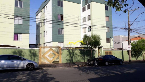 Apartamento Com 2 Dormitórios Para Alugar, 45 M² Por R$ 900/mês - Conserva - Americana/sp - Ap0604
