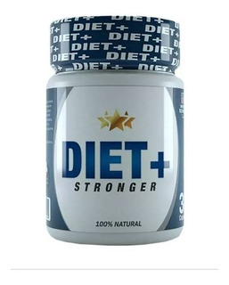 Diet+stronger 100%natural (perder Peso) 1 Frasco 30 Capsulas