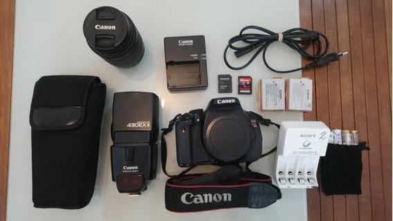 Câmera Canon T3i Com Acessórios