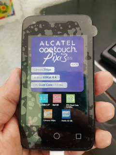 Alcatel Pixi 3 3.5 Usado 4009a At&t Unefon Iusacell