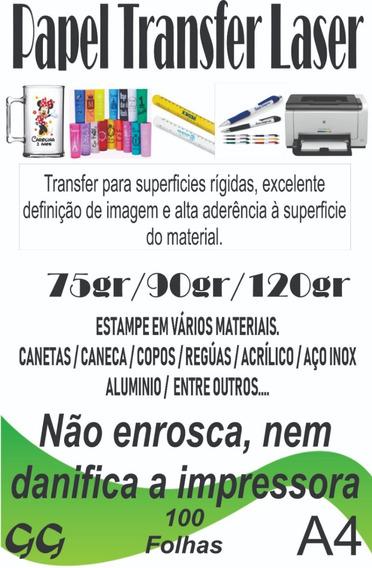 Papel Transfer Laser 500 Folhas A4 A4