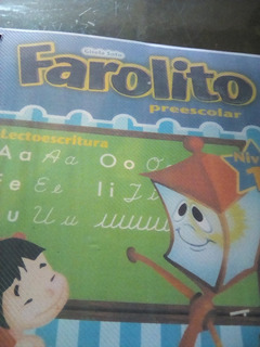 Libro Farolito Preescolar Lectoescritura Nivel 1 Y 2- 200mil