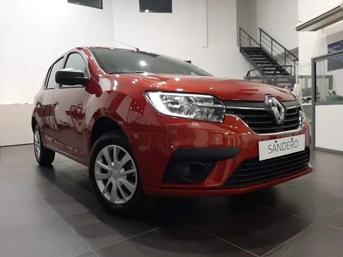 Renault Sandero Life Anticipo Y Cuotas Tasa 0% Solo Dni (dv)