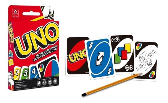 Jogo Uno Cartas Lacrado Modelo Novo Revestido Melhor Preço