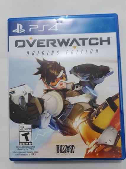 Jogo Novo Overwatch Edição Origins Para Playstation 4 Ps4