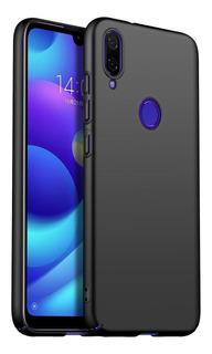 Funda Huawei P20 Lite Tpu Rígida Ultra Fina Negro Y Rosa