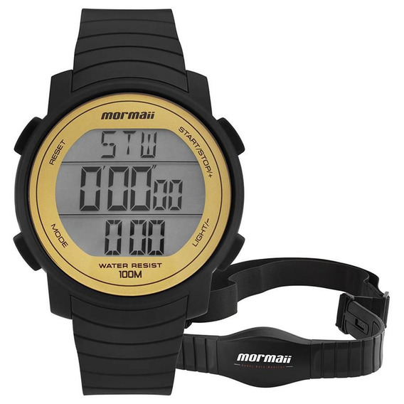 Relógio Mormaii Masculino Ref: Mo11560aa/8d Monitor Cardíaco