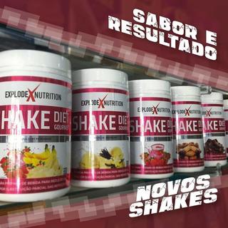 Shake Emagrecedor Diet Gourmet 450g Controle De Peso