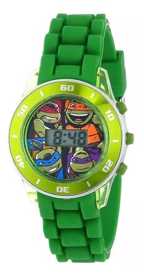 Reloj Digital Nickelodeon Tortugas Ninja