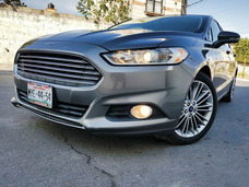 Ford Fusion 2013 Luxury Plus Piel Qc Gps Posible Cambio