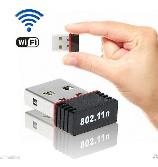 Antena Wifi Usb Tarjeta Receptor Mini 150mbps 802.11n/g/b