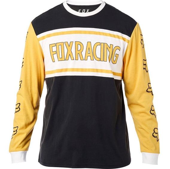 Exclusiva Playera Fox Racing Airline Bandit Xl