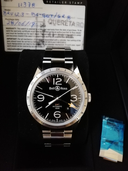 Reloj Bell & Ross Br123 Gmt