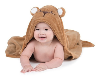 Toalla Absorbente Para Bebé Toallita Osito Baby Esquimalito