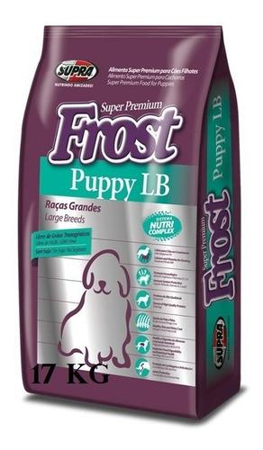 Frost Puppy Lb Raza Grande Cachorro 15+2 Kg + Pipeta + Envío