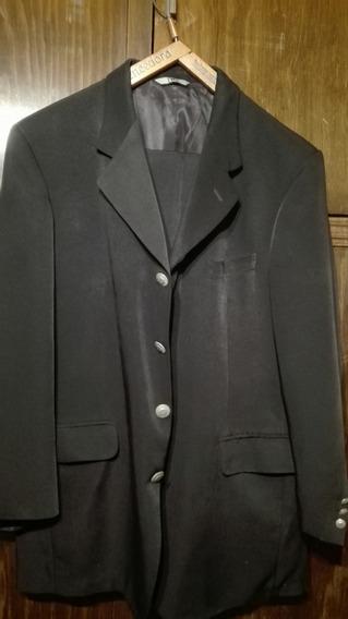 Traje De Hombre Prototype Negro - Pantalon Y Saco