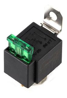 Mini Relay Universal 4 Patas Con Fusible 30 Amper