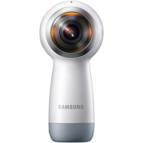 Câmera Bluetooth Samsung Gear 360 2017 Wi-fi 15mp E Ip53