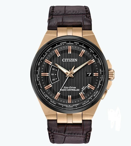 Relógio Masculino Citizen Cb0168-08e Couro