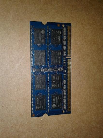 Memoria Ram Ddr3 4gbs Para Notebook Usado