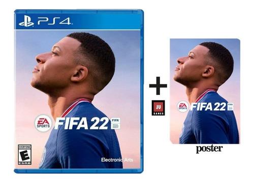 Imagen 1 de 1 de Preventa Fifa 22 Playstation 4 + Poster