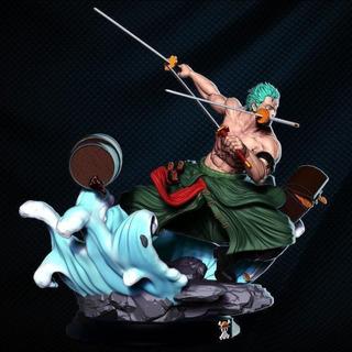 Zoro One Piece Stl Para Impresión 3d