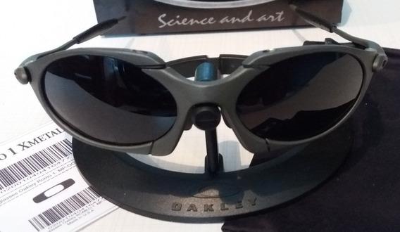 Oculos Oakley Romeo 1 X Metal Lentes Pretas Black Polarizadas 12x Sem Juros